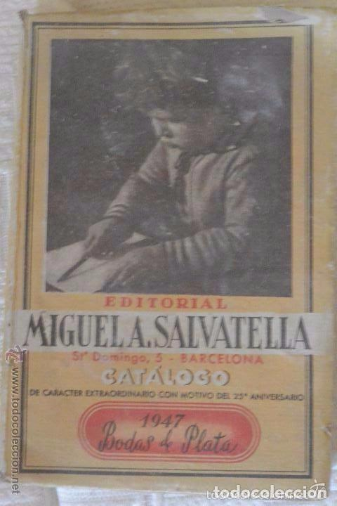 CATÁLOGO DE LIBROS EDITORIAL SALVATELLA (Libros Antiguos, Raros y Curiosos - Libros de Texto y Escuela)