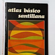 Libros antiguos: ATLAS BÁSICO SANTILLANA 1979. Lote 90790795