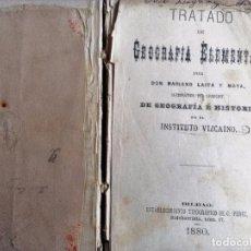 Livros antigos: TRATADO DE GEOGRAFIA ELEMENTAL MARIANO LAITA Y MOYA 1880. Lote 91103770
