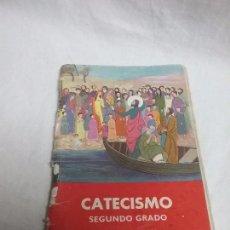 Libros antiguos: CATECISMO DE LA DOCTRINA CRISTIANA SEGUNDO GRADO TEXTO NACIONAL - AÑO 1958 . Lote 92849455