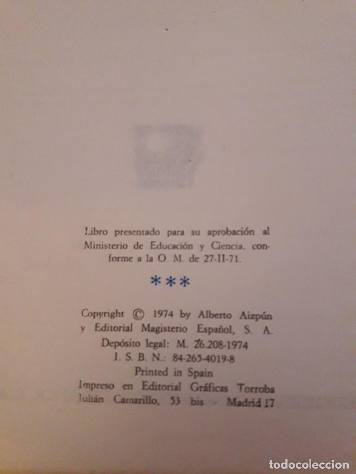 Libros antiguos: LIBRO MATEMATICAS 7 EGB - ALBERTO AIZPUN - ED. MAGISTERIO ESPAÑOL - 1974 - Foto 2 - 92987450