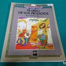 Livres anciens: EL LIBRO DE LOS PRODIGIOS, SM, JUAN MUÑOZ MARTIN. Lote 129961683