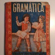 Libros antiguos: GRAMATICA. GRADO PREPARATORIO. EDITORIAL LUIS VIVES. AÑO 1947. Lote 94651655