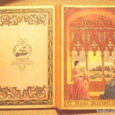 Libros antiguos: PROSA I VERS MANEL MARINEL·LO 1917 SUCCESSORS DE BLAI CAMÍ DIBUIXOS S LLOBET BON ESTAT Y. Lote 94652903