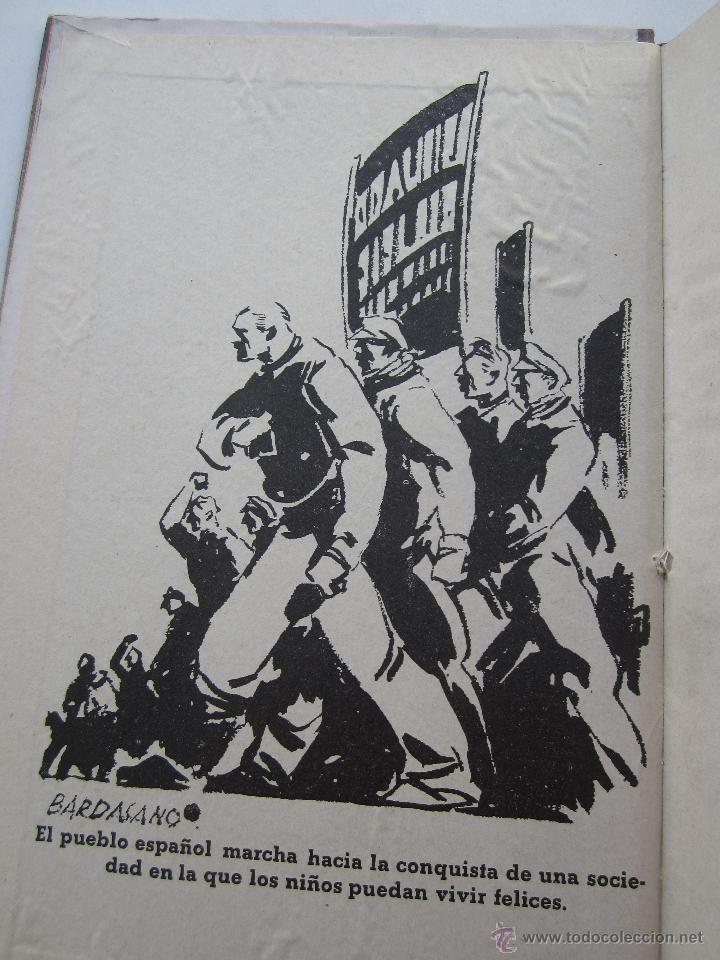 Libros antiguos: por que , cuento guerra civil para los niños antifacistas,instruccion publica 1936 republica - Foto 2 - 94778607