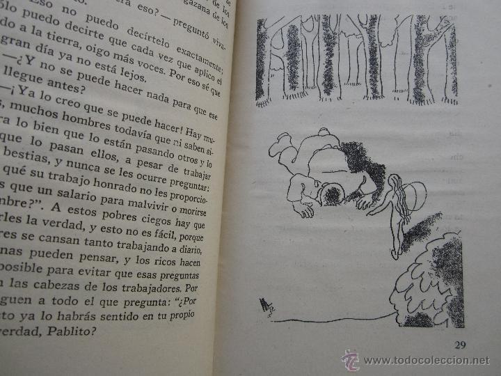 Libros antiguos: por que , cuento guerra civil para los niños antifacistas,instruccion publica 1936 republica - Foto 6 - 94778607
