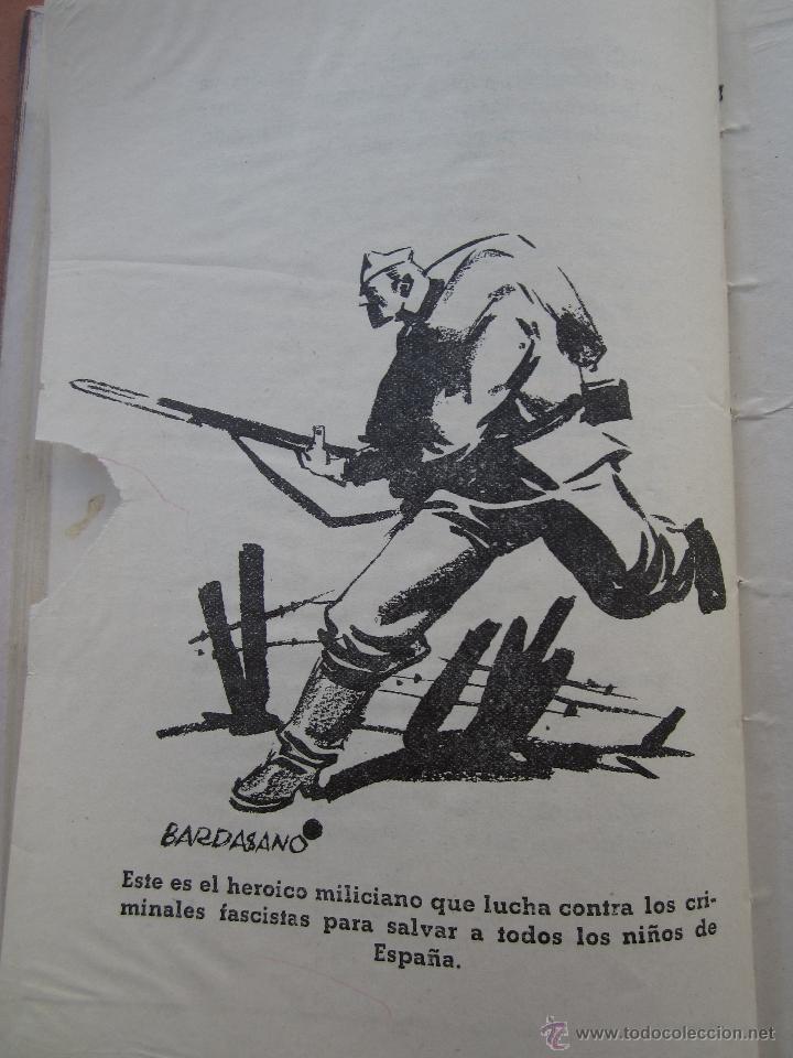 Libros antiguos: por que , cuento guerra civil para los niños antifacistas,instruccion publica 1936 republica - Foto 7 - 94778607