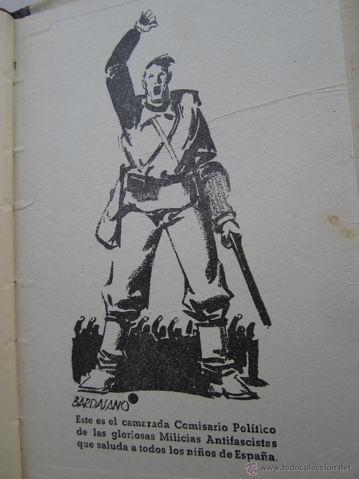 Libros antiguos: por que , cuento guerra civil para los niños antifacistas,instruccion publica 1936 republica - Foto 8 - 94778607