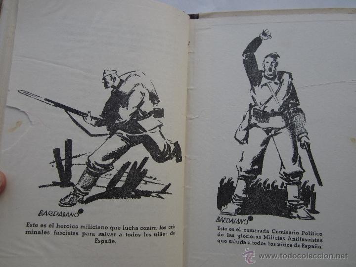 Libros antiguos: por que , cuento guerra civil para los niños antifacistas,instruccion publica 1936 republica - Foto 9 - 94778607