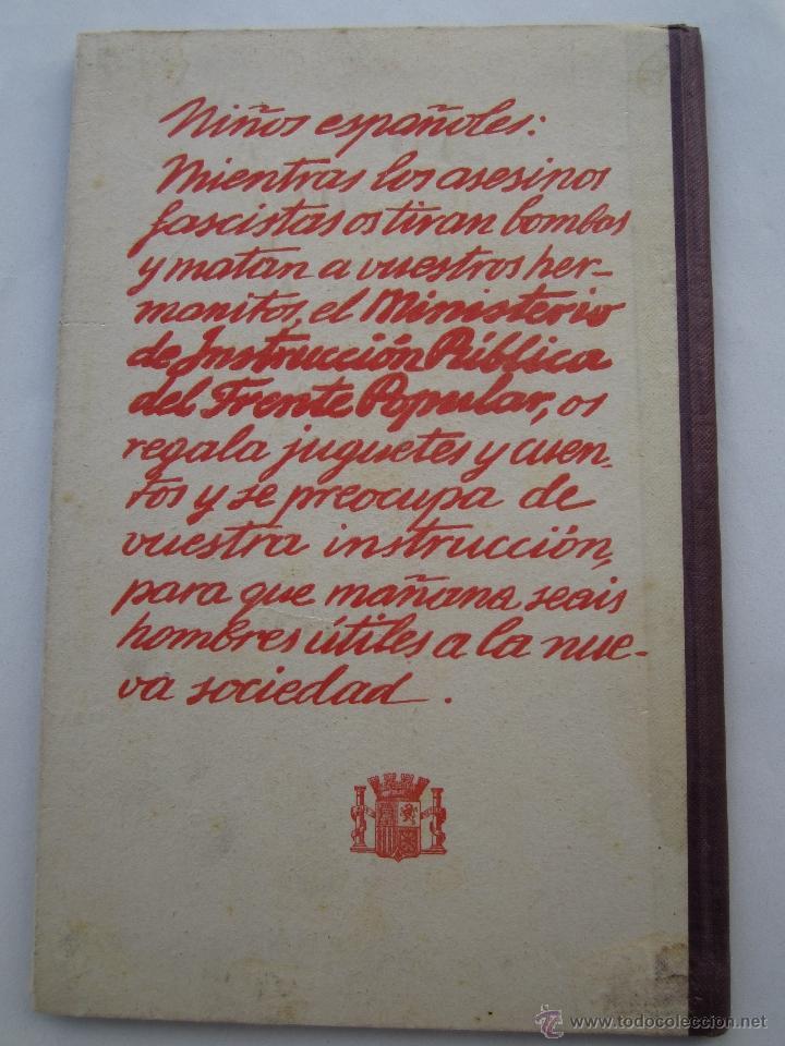 Libros antiguos: por que , cuento guerra civil para los niños antifacistas,instruccion publica 1936 republica - Foto 10 - 94778607