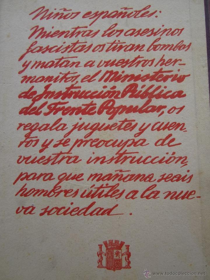 Libros antiguos: por que , cuento guerra civil para los niños antifacistas,instruccion publica 1936 republica - Foto 11 - 94778607