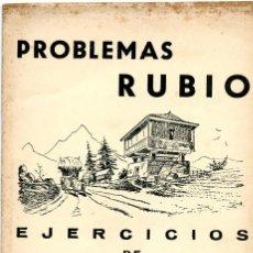 Livres anciens: CUADERNO ESCUELA-PROBLEMAS RUBIO Nº 11. Lote 95361483
