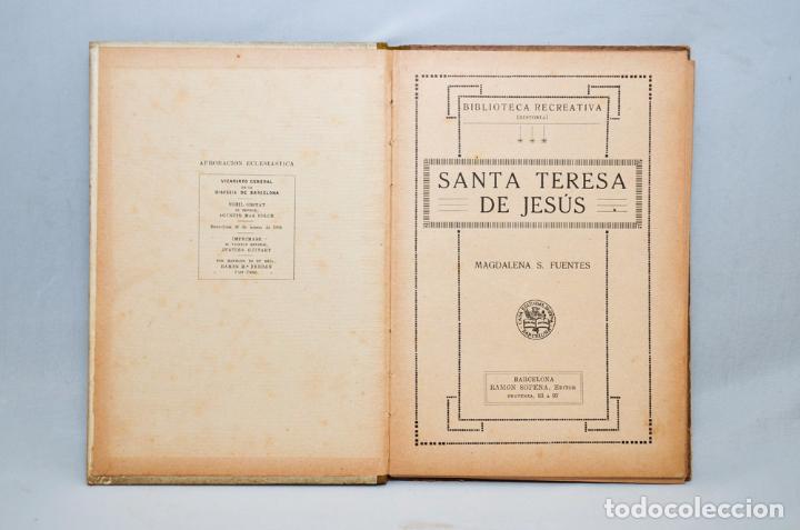 Libros antiguos: SANTA TERESA DE JESÚS - Foto 3 - 95326016