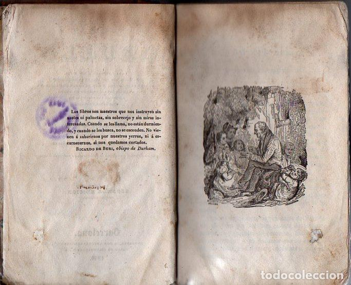 Libros antiguos: ANTONIO BERGNES : EL ABUELO (1840) - Foto 3 - 95624467