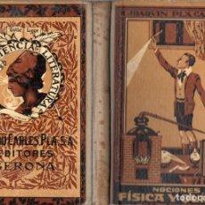 Libros antiguos: NOCIONES DE FÍSICA Y QUÍMICA (DALMAU CARLES, 1936). Lote 110440594