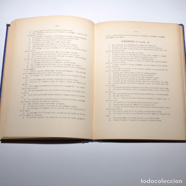 Libros antiguos: LLIBRE DEL MESTRE DORTOGRAFIA CATALANA - Foto 5 - 95971983