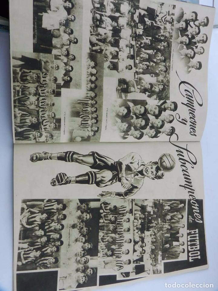 Libros antiguos: Memoria curso escolar Real Colegio de las Escuelas Pias de San Anton 1949 - 1950, en buen estado de - Foto 3 - 96292311