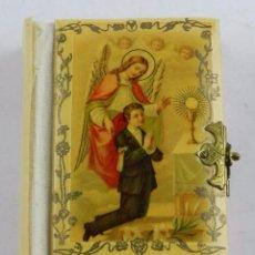 Libros antiguos: ANTIGUO LIBRO RELIGIOSO LIBRITO DEL NIÑO ORACIONES IMPRESO CURIA MEDIOLANI, TIENE 128 PAGINAS, MUY B. Lote 96490331