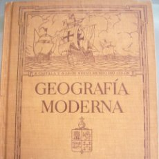 Libros antiguos: GEOGRAFIA MODERNA-CAROLINA MARCIAL DORADO Y HELEN GOSS-GINN Y COMPAÑIA-BOSTON-1924. Lote 96883315