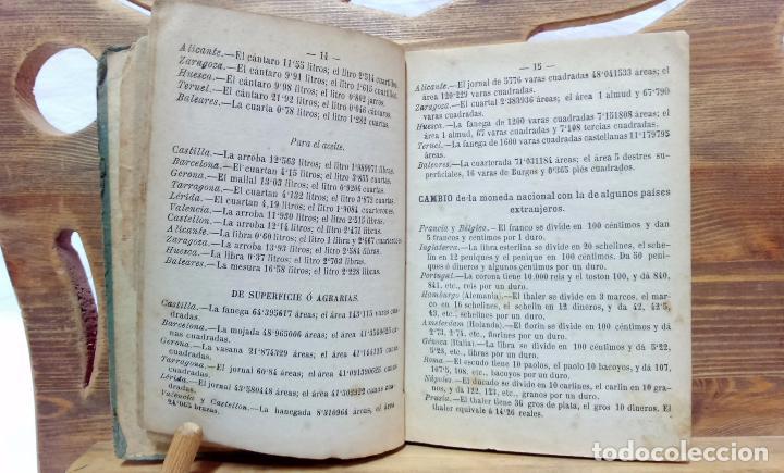 Libros antiguos: LA ARITMÉTICA DE LAS ESCUELAS DE PRIMERA ENSEÑANZA. JOSÉ BERTOMEU, BARCELONA. 1878 - Foto 3 - 97113955