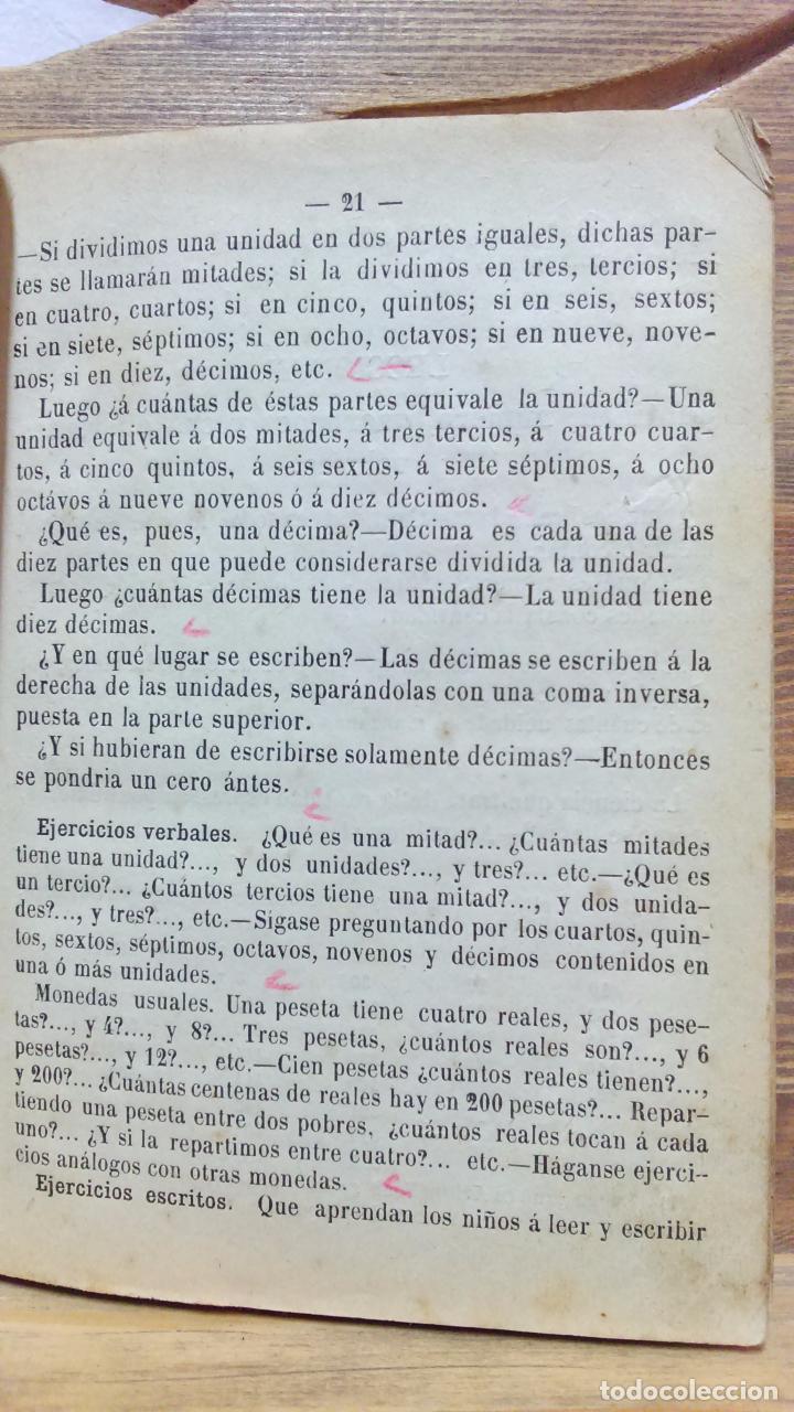 Libros antiguos: LA ARITMÉTICA DE LAS ESCUELAS DE PRIMERA ENSEÑANZA. JOSÉ BERTOMEU, BARCELONA. 1878 - Foto 4 - 97113955