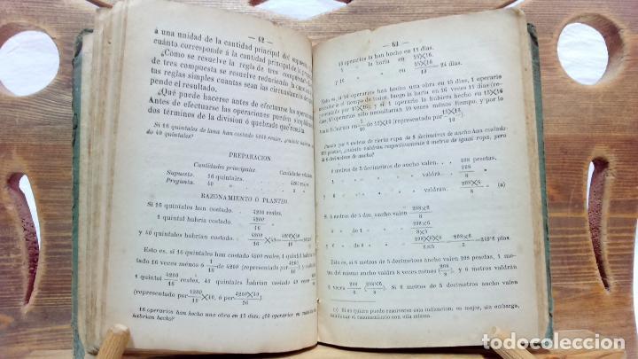 Libros antiguos: LA ARITMÉTICA DE LAS ESCUELAS DE PRIMERA ENSEÑANZA. JOSÉ BERTOMEU, BARCELONA. 1878 - Foto 6 - 97113955