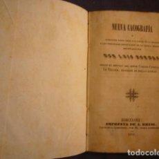 Libros antiguos: LUIS BORDAS: - NUEVA CACOGRAFIA - (BARCELONA, 1851) (ESTUDIO DE LA LENGUA FRANCESA). Lote 97700115
