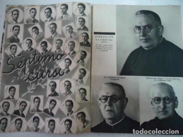 Libros antiguos: COLEGIO SAN JOSE --PP. ESCOLAPIOS SANTANDER - MEMORIA 1943/44 - Foto 5 - 97878091