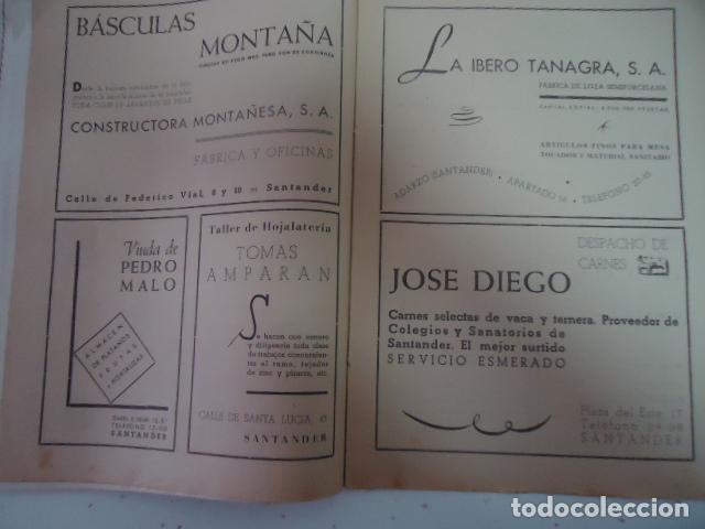 Libros antiguos: COLEGIO SAN JOSE --PP. ESCOLAPIOS SANTANDER - MEMORIA 1943/44 - Foto 8 - 97878091