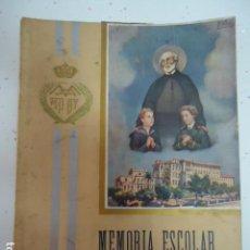 Libros antiguos: COLEGIO SAN JOSE --PP. ESCOLAPIOS SANTANDER - MEMORIA 1942/43. Lote 97878167
