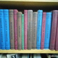 Libros antiguos: 16 LIBROS COLECCION LIBROS DE LA ESCUELA DE ENTONCES. TAMBIÉN POR UNIDADES. Lote 98251923