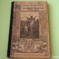 Libros antiguos: CATECISME DE LA DOTRINA CRISTIANA. SEGON GRAU , EN CATALÀN.BARCELONA AÑO 1930.. Lote 99454167