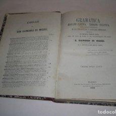 Libros antiguos: GRAMÁTICA HISPANO - LATINA , TEÓRICA - PRÁCTICA , RAIMUNDO DE MIGUEL , MADRID 1892.. Lote 99870907