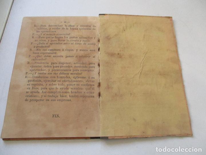 Libros antiguos: CARTILLA AGRARIA, ALEJANDRO OLIVÁN-MADRID 1882- LIBRERÍA DE D. GREGORIO HERNÁNDO- - Foto 4 - 100160867