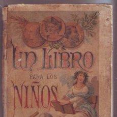 SATURNINO CALLEJA: UN LIBRO PARA LOS NIÑOS, OBRA DE TEXTO, 1892