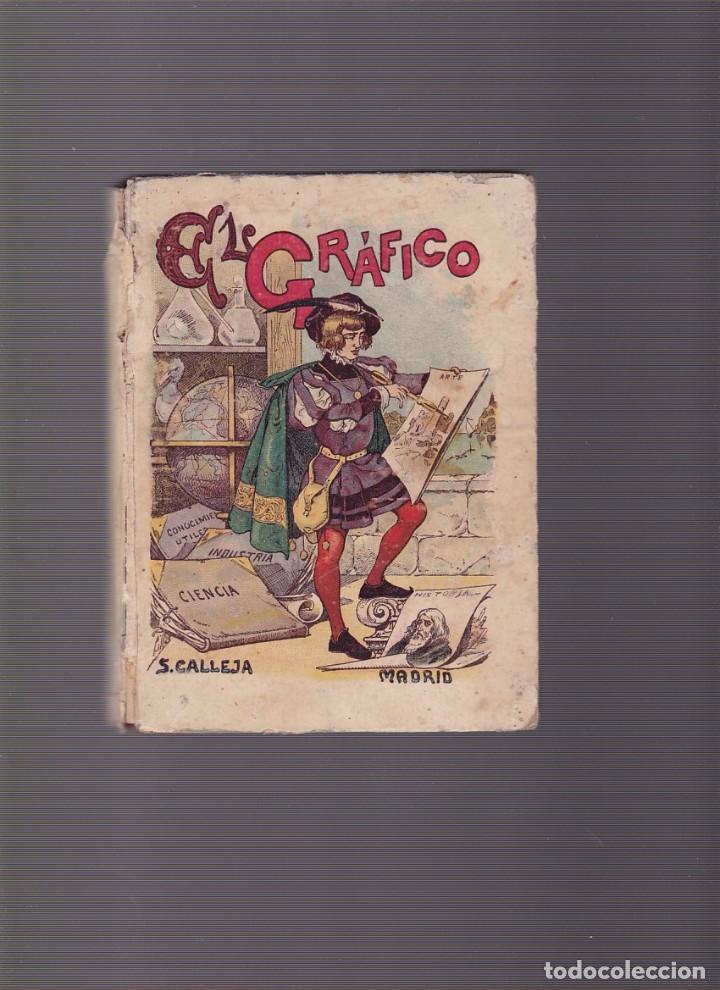 EL GRÁFICO - EL PENSAMIENTO INFANTIL - SEXTA PARTE - SATURNINO CALLEJA (Libros Antiguos, Raros y Curiosos - Libros de Texto y Escuela)