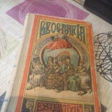 Libros antiguos: LIBRO GEOGRAFIA PARA NIÑOS (2º GRADO) - ESTEBAN PALUZÍE - BARCELONA AÑO 1901 - ED.FAUSTINO P. Lote 103852631