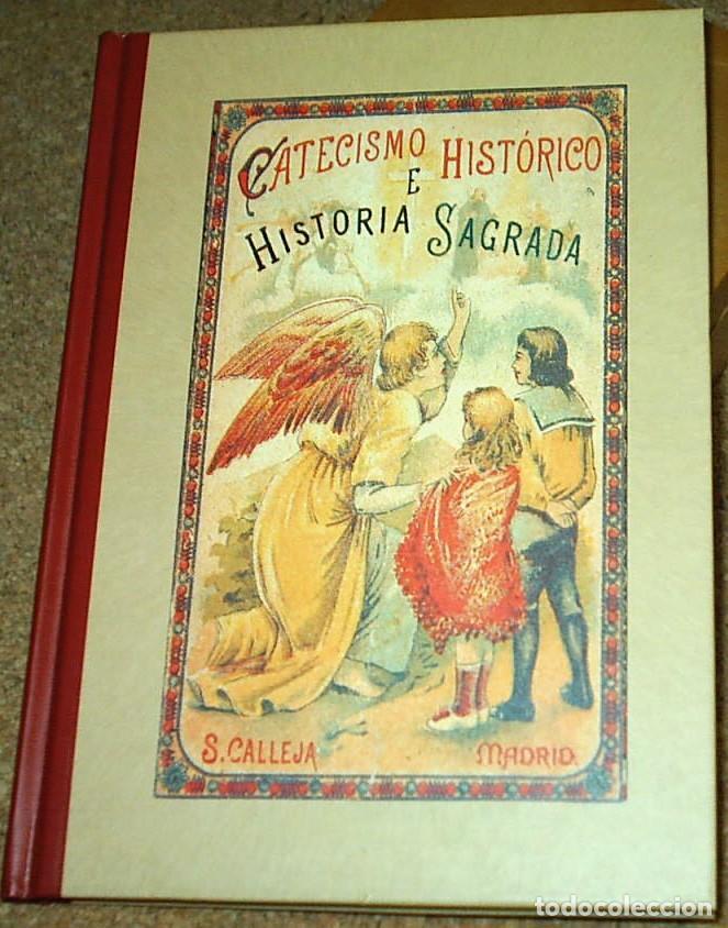 CATECISMO HISTORICO E HISTORIA SAGRADA - CALLEJA EDICIÓN EDAF TAPA DURA- SIN USO LEER TODO (Libros Antiguos, Raros y Curiosos - Libros de Texto y Escuela)