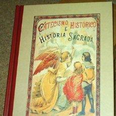 Libros antiguos: CATECISMO HISTORICO E HISTORIA SAGRADA - CALLEJA EDICIÓN EDAF TAPA DURA- SIN USO LEER TODO. Lote 104254875