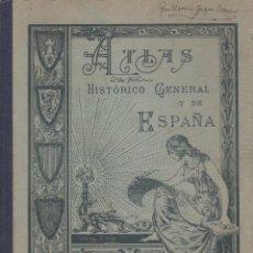 Alte Bücher - ATLAS HISTORICO GENERAL Y DE ESPAÑA 1936 - 105013303