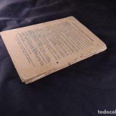 Libros antiguos: LIBRO DE GEOMETRIA LINEAS SUPERFICIES SOLIDOS PRIMER CURSO. Lote 106095519