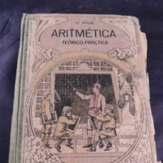 Libros antiguos: LIBRO DE ARITMETICA 2º GRADO LIBRERIA CATOLICA AÑO 1917. Lote 106096231
