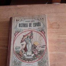 Libros antiguos: HISTORIA DE ESPAÑA LIBRO DE 1916. Lote 106746502