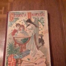 Libros antiguos: GEOGRAFIA UNIVERSAL LIBRO DE 1926. Lote 106817322