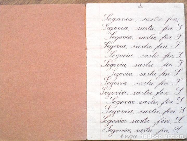 Libros antiguos: VILLENA (ALICANTE) - CUADERNILLO MANUSCRITO COLEGIO DE MARÍA AUXILIADORA - AÑO 1934 - Foto 2 - 107219115