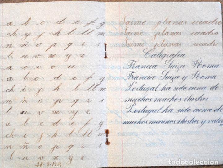 Libros antiguos: VILLENA (ALICANTE) - CUADERNILLO MANUSCRITO COLEGIO DE MARÍA AUXILIADORA - AÑO 1934 - Foto 3 - 107219115