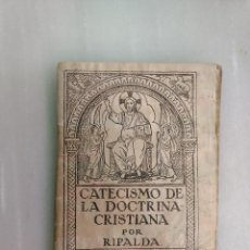 Livros antigos: CATECISMO DEL PADRE RIPALDA. Lote 107918811