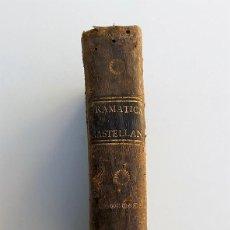 Libros antiguos: ANTIGUO GRAMÁTICA DE LA LENGUA CASTELLANA - VIUDA DE IBARRA - 1796 - CUARTA EDICIÓN. Lote 109390491