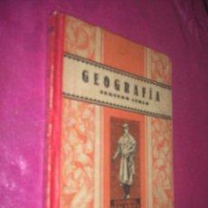 Libros antiguos: GEOGRAFIA SEGUNDO CURSO LUIS VIVES 1939 ILUSTRADO . Lote 109431467
