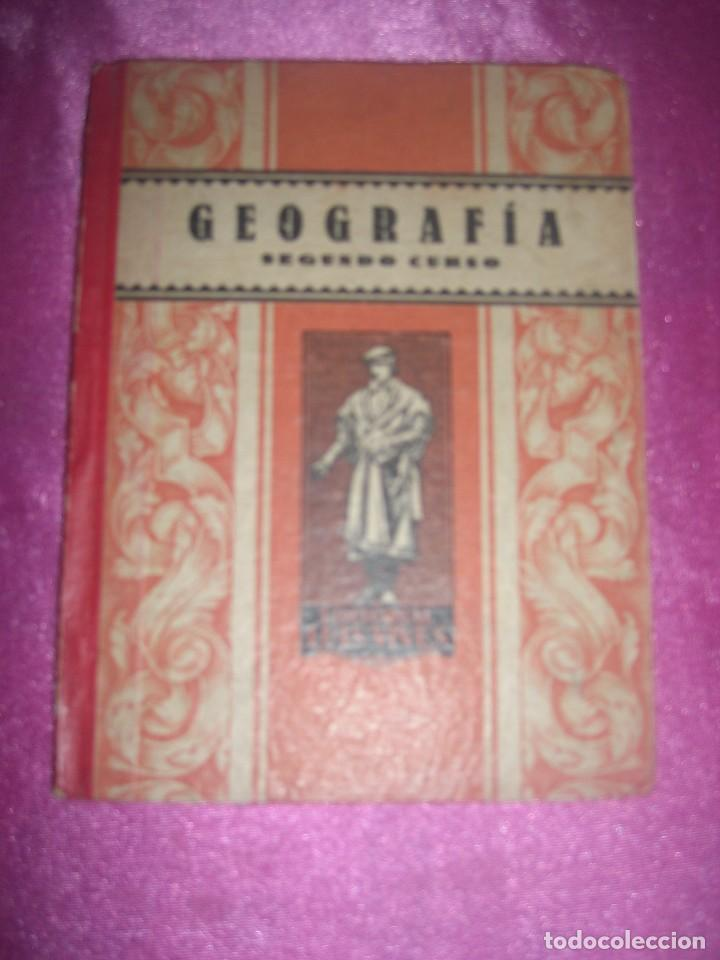 Libros antiguos: GEOGRAFIA SEGUNDO CURSO LUIS VIVES 1939 ILUSTRADO - Foto 2 - 109431467